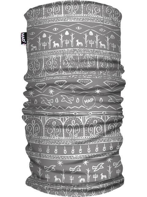 HAD Printed Fleece Tube Scarf babylon light grey